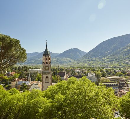 Merano - Destinations in South Tyrol.